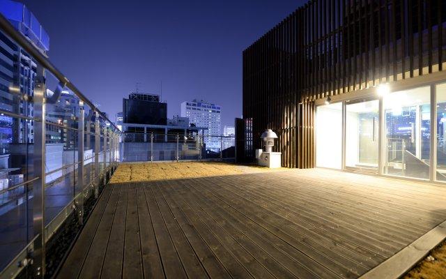 Отель Creto Hotel Myeongdong Южная Корея, Сеул - отзывы, цены и фото номеров - забронировать отель Creto Hotel Myeongdong онлайн вид на фасад