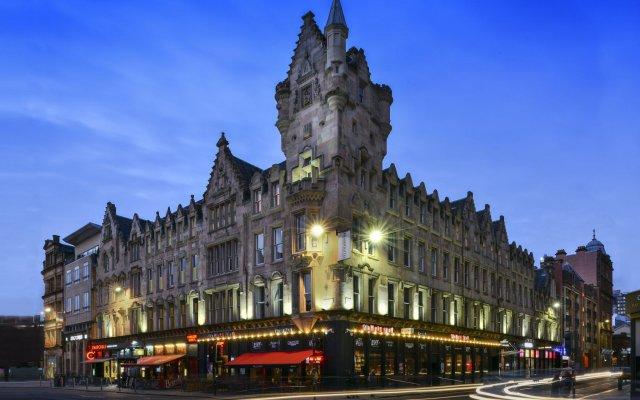 Отель Fraser Suites Glasgow вид на фасад