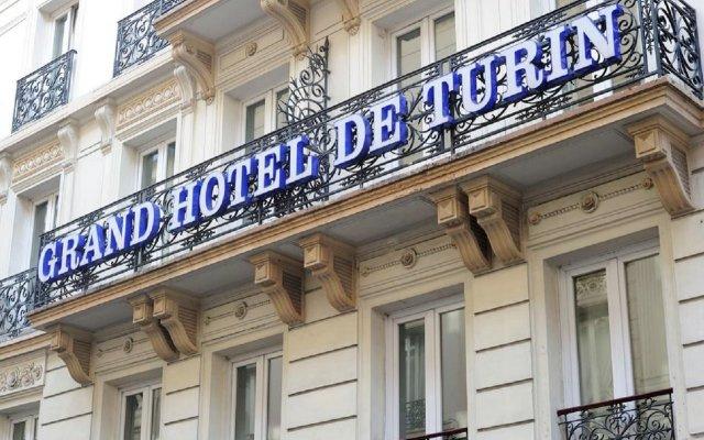 Grand Hotel de Turin вид на фасад