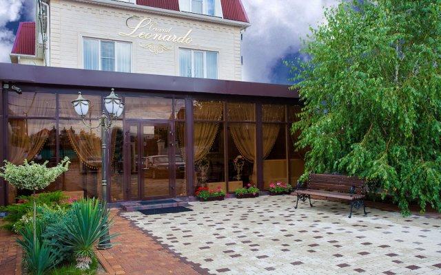 Гостиница Grand Leonardo Hotel в Краснодаре отзывы, цены и фото номеров - забронировать гостиницу Grand Leonardo Hotel онлайн Краснодар вид на фасад