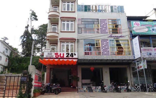 Отель Su 24h Guesthouse Далат вид на фасад