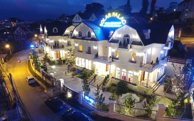 Отель Solar Palace Da Lat Далат вид на фасад