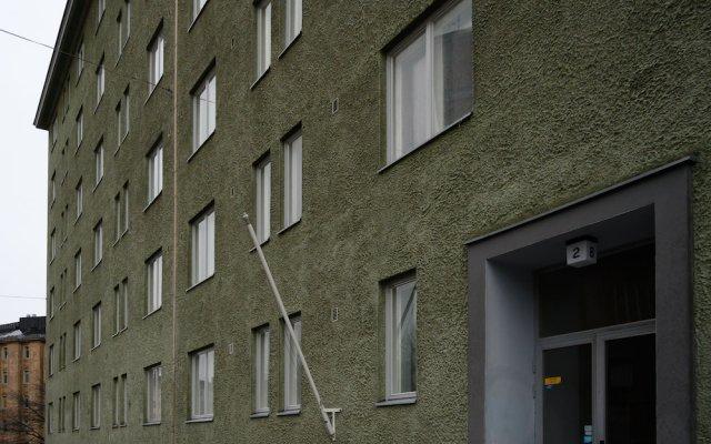 Отель WeHost Agricolankatu 2 Финляндия, Хельсинки - отзывы, цены и фото номеров - забронировать отель WeHost Agricolankatu 2 онлайн вид на фасад