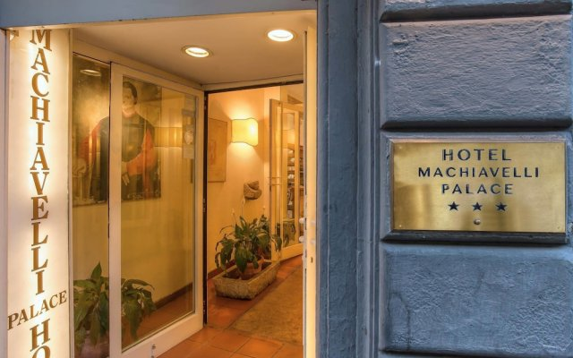 Hotel Machiavelli Palace вид на фасад
