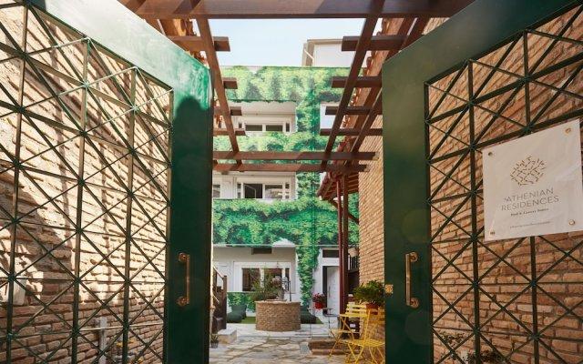 Отель Athenian Residences Греция, Афины - отзывы, цены и фото номеров - забронировать отель Athenian Residences онлайн вид на фасад