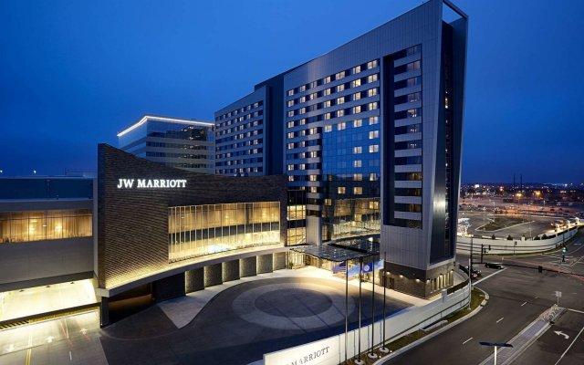 Отель Jw Marriott Minneapolis Mall Of America Блумингтон вид на фасад