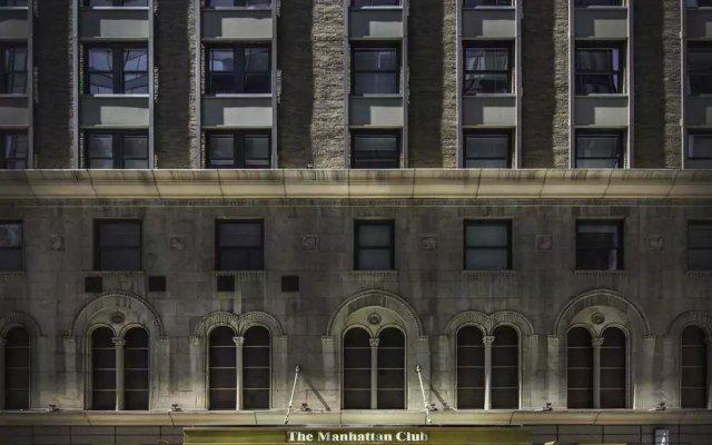 Отель The Manhattan Club США, Нью-Йорк - отзывы, цены и фото номеров - забронировать отель The Manhattan Club онлайн вид на фасад