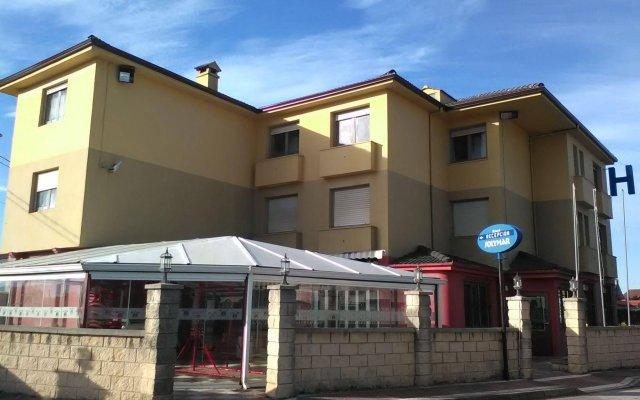 Отель Solymar вид на фасад