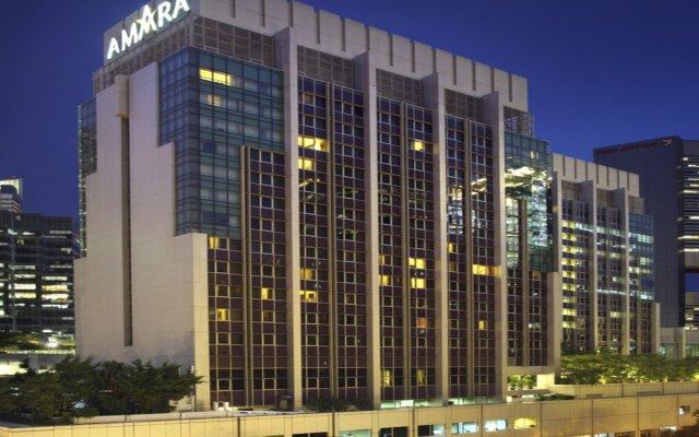 Отель Amara Singapore Сингапур вид на фасад