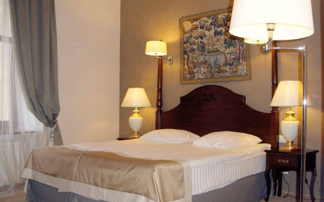 Гостиница Reikartz Medievale Львов комната для гостей