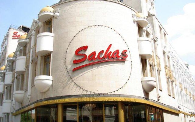 Отель Britannia Sachas Hotel Великобритания, Манчестер - 1 отзыв об отеле, цены и фото номеров - забронировать отель Britannia Sachas Hotel онлайн вид на фасад