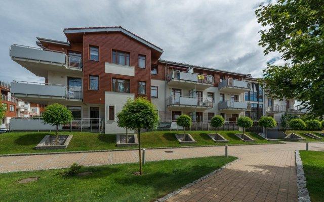 Отель Apartinfo Apartments - Neptun Park Польша, Гданьск - отзывы, цены и фото номеров - забронировать отель Apartinfo Apartments - Neptun Park онлайн вид на фасад