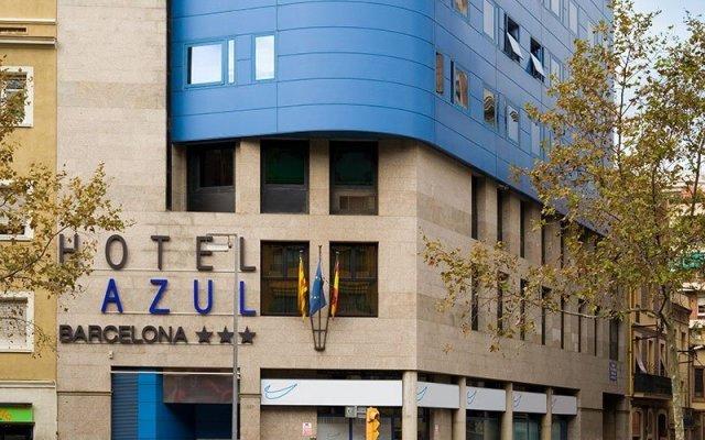 Отель Acta Azul Испания, Барселона - отзывы, цены и фото номеров - забронировать отель Acta Azul онлайн вид на фасад