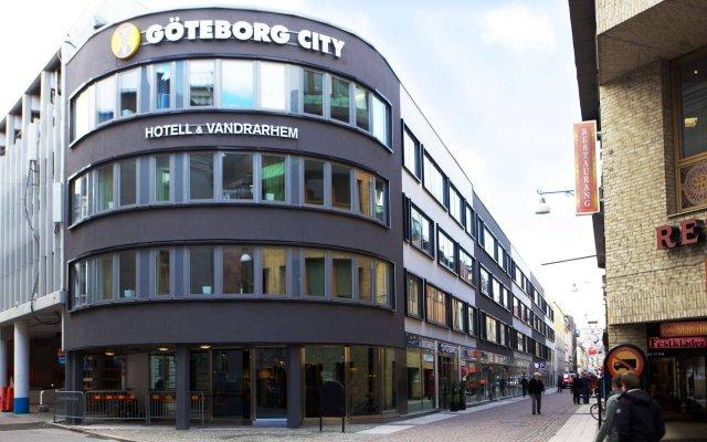 Отель STF Göteborg City Vandrarhem Швеция, Гётеборг - отзывы, цены и фото номеров - забронировать отель STF Göteborg City Vandrarhem онлайн вид на фасад