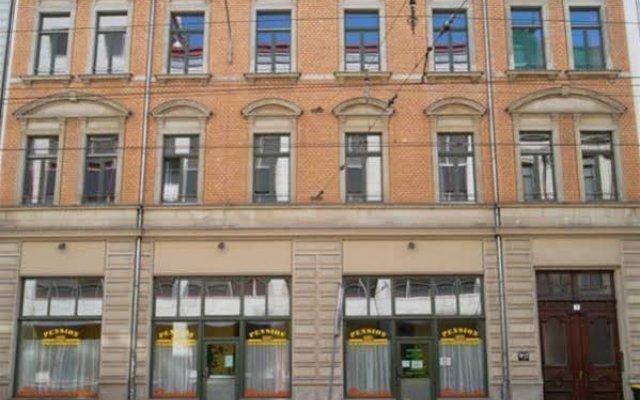 Отель Pension Zum Leipziger Zoo Германия, Лейпциг - отзывы, цены и фото номеров - забронировать отель Pension Zum Leipziger Zoo онлайн вид на фасад