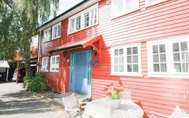 Отель Solferie Holiday Home - Skippergata Норвегия, Кристиансанд - отзывы, цены и фото номеров - забронировать отель Solferie Holiday Home - Skippergata онлайн вид на фасад