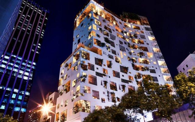 Отель The Myst Dong Khoi вид на фасад