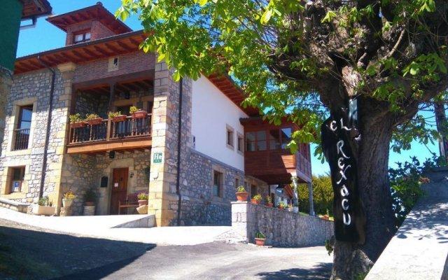 Hotel Rural El Rexacu Онис вид на фасад