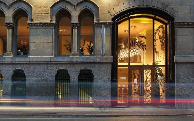 Отель Townhouse Hotel Manchester Великобритания, Манчестер - отзывы, цены и фото номеров - забронировать отель Townhouse Hotel Manchester онлайн вид на фасад