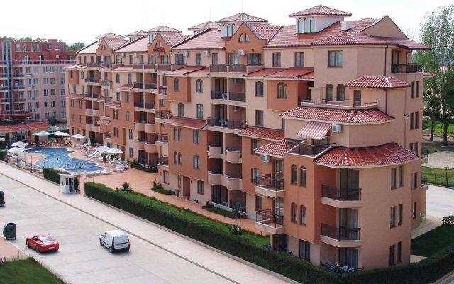 Отель Aparthotel Kasandra вид на фасад