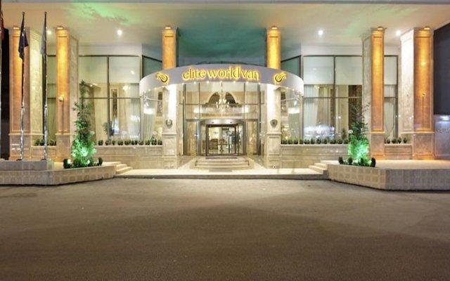 Elite World Van Hotel Турция, Ван - отзывы, цены и фото номеров - забронировать отель Elite World Van Hotel онлайн вид на фасад