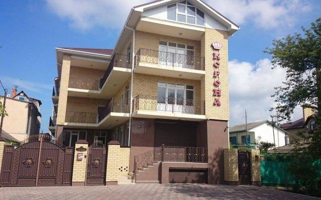 Гостиница Guest House Korona в Анапе 1 отзыв об отеле, цены и фото номеров - забронировать гостиницу Guest House Korona онлайн Анапа вид на фасад