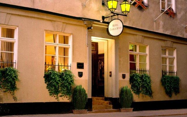 Отель Scandic Gamla Stan Стокгольм вид на фасад