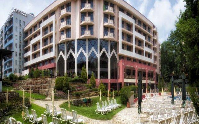 Отель Odessos Park Hotel - Все включено Болгария, Золотые пески - отзывы, цены и фото номеров - забронировать отель Odessos Park Hotel - Все включено онлайн вид на фасад