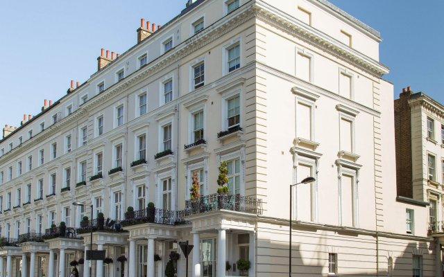 Отель Princes Square Serviced Apartments Великобритания, Лондон - отзывы, цены и фото номеров - забронировать отель Princes Square Serviced Apartments онлайн вид на фасад