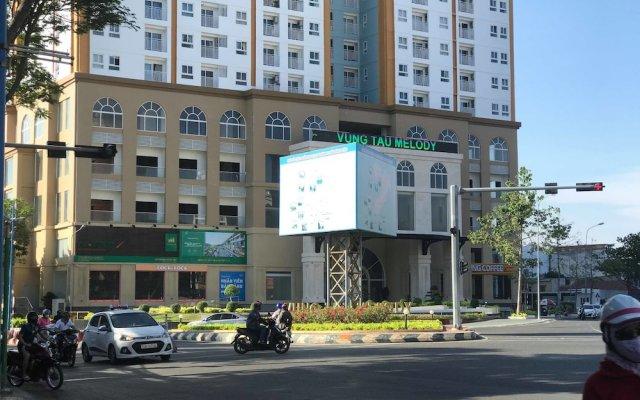 Отель Diamond Sea Apartment Вьетнам, Вунгтау - отзывы, цены и фото номеров - забронировать отель Diamond Sea Apartment онлайн вид на фасад