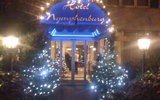 Отель Nymphenburg München Германия, Мюнхен - отзывы, цены и фото номеров - забронировать отель Nymphenburg München онлайн вид на фасад