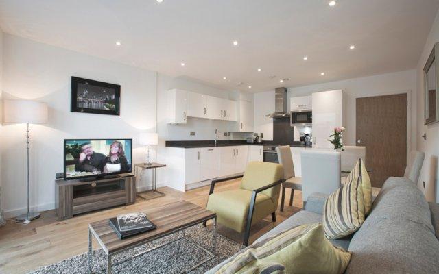 Апартаменты Greenwich O2 Apartments комната для гостей