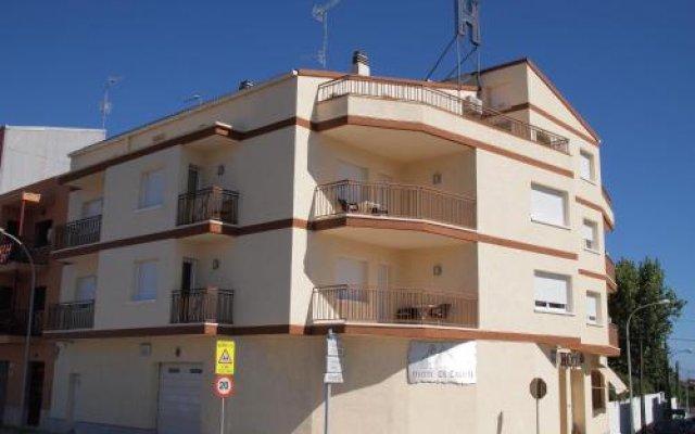 Отель Hostal El Castell Испания, Калафель - отзывы, цены и фото номеров - забронировать отель Hostal El Castell онлайн вид на фасад