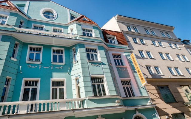Hotel Imlauer Vienna Вена вид на фасад