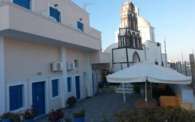 Отель Villa Pavlina Греция, Остров Санторини - отзывы, цены и фото номеров - забронировать отель Villa Pavlina онлайн вид на фасад