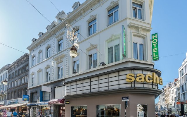 Отель Safestay Brussels вид на фасад
