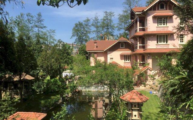 Отель Sapa Garden Bed and Breakfast Вьетнам, Шапа - отзывы, цены и фото номеров - забронировать отель Sapa Garden Bed and Breakfast онлайн вид на фасад