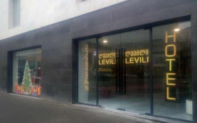 Отель Levili вид на фасад