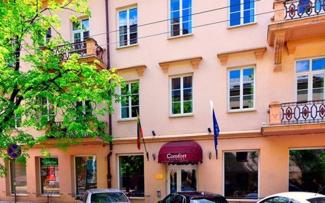 Отель Mikotel Вильнюс парковка