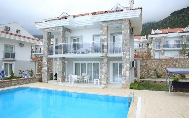 Orka Golden Heights Villas Турция, Олудениз - отзывы, цены и фото номеров - забронировать отель Orka Golden Heights Villas онлайн вид на фасад
