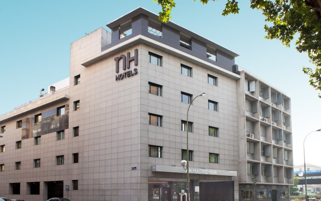 Отель NH Madrid Sur вид на фасад