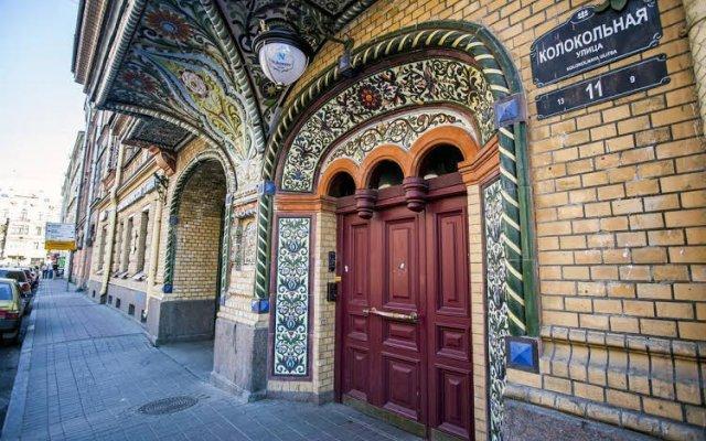 Отель Меблированные комнаты Никонов Санкт-Петербург вид на фасад