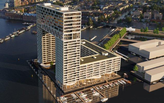 Отель Pontsteiger Нидерланды, Амстердам - отзывы, цены и фото номеров - забронировать отель Pontsteiger онлайн вид на фасад