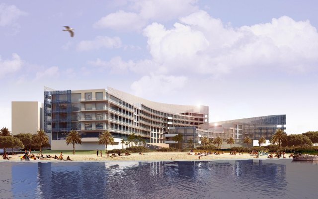 Отель Rixos The Palm Dubai вид на фасад