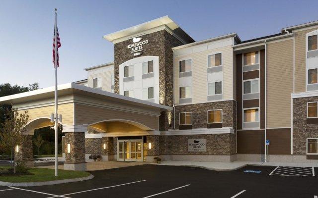 Отель Homewood Suites by Hilton Augusta вид на фасад