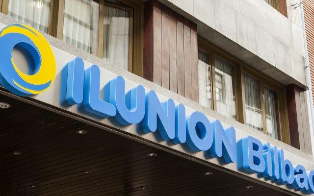 Ilunion Hotel Bilbao вид на фасад