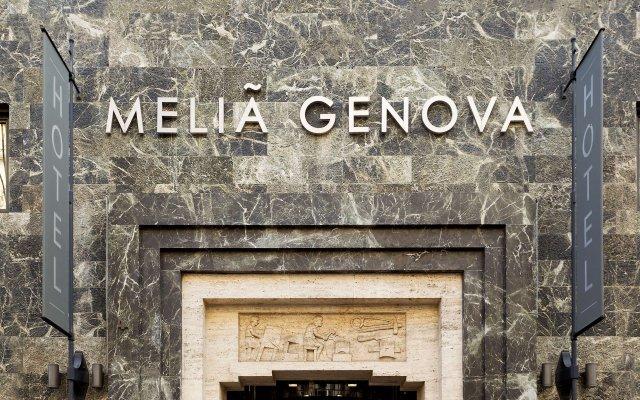 Отель Melia Genova вид на фасад