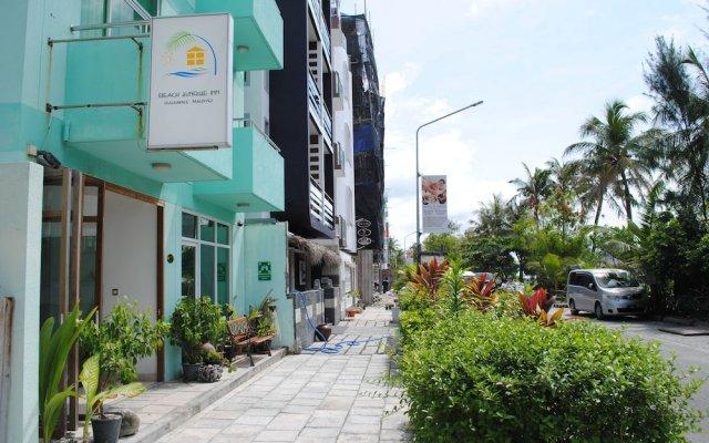 Отель Beach Sunrise Inn Мальдивы, Северный атолл Мале - отзывы, цены и фото номеров - забронировать отель Beach Sunrise Inn онлайн вид на фасад
