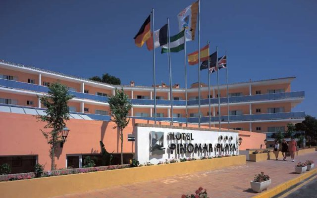 Отель Diverhotel Dino Marbella вид на фасад