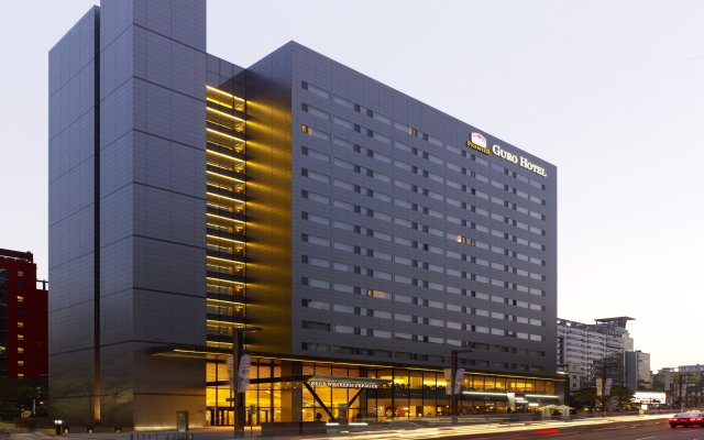 Best Western Premier Guro Hotel вид на фасад